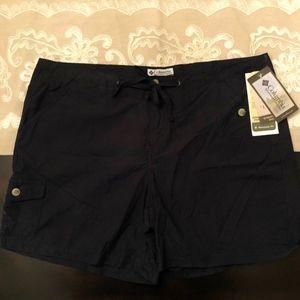 Columbia Black Westwego Valley Shorts